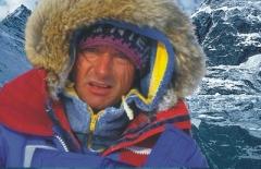 O dr. Etiénne no Pólo Norte.